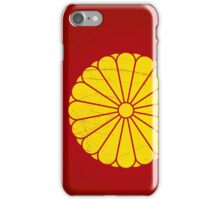 Japanese Emperor seal iPhone Case/Skin