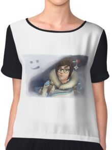 Mei- Play of the Game Chiffon Top