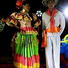 Cali Dancers In Andalucia, Colombia by Al Bourassa