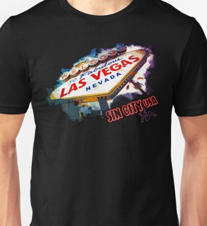 Las Vegas Nevada Sin City USA Unisex T-Shirt
