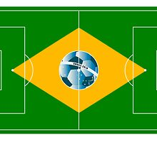 Brazil football field by siloto