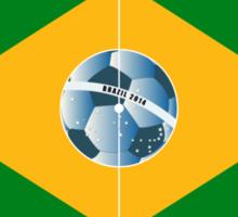 Brazil football field Sticker