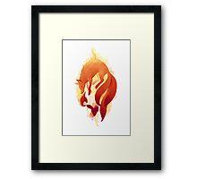 Fire Fox Framed Print