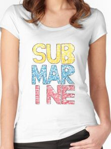 Submarine by Joe Dunthorne- Design Women's Fitted Scoop T-Shirt