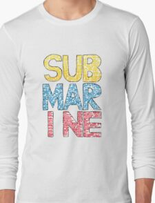 Submarine by Joe Dunthorne- Design Long Sleeve T-Shirt