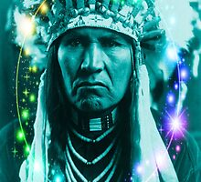 Magical Indian Chief by Icarusismart