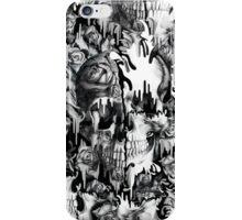 Gone in a splash, skull pattern iPhone Case/Skin