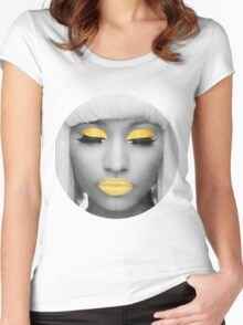 Yellow Nicki Women's Fitted Scoop T-Shirt