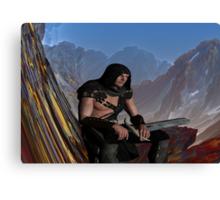Lost Warrior Canvas Print