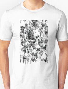 Gone in a splash, skull pattern T-Shirt
