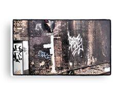 OH Graffiti Canvas Print