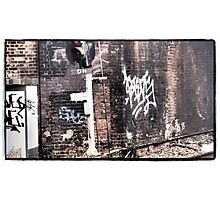 OH Graffiti Photographic Print