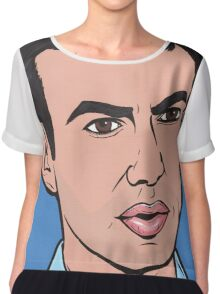 Nathan For You Chiffon Top