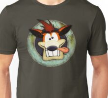 Crash Bandicoot. Unisex T-Shirt