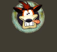 Crash Bandicoot. Unisex T-Shirt