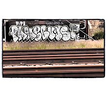 Railway Graffiti Photographic Print