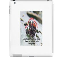 Invited to the Mating Dance iPad Case/Skin