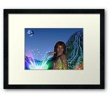 Magical Light Framed Print