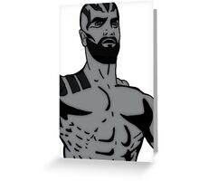 Critical Role - Grog Strongjaw Greeting Card