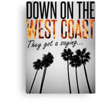 West Coast Canvas Print