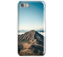 Mountains in the background XXII iPhone Case/Skin