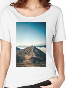 Mountains in the background XXII Women's Relaxed Fit T-Shirt