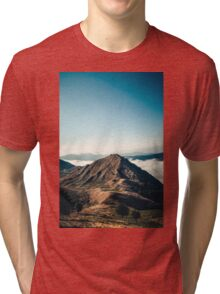 Mountains in the background XXII Tri-blend T-Shirt