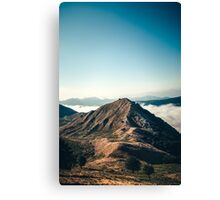 Mountains in the background XXII Canvas Print