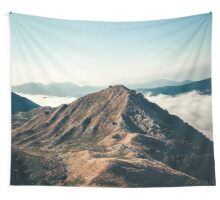 Mountains in the background XXII Wall Tapestry