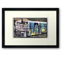 Queanbeyan Community Traincar Framed Print