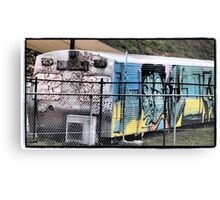 Queanbeyan Community Traincar Canvas Print