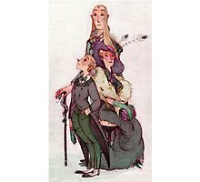 the malfoy's - harry potter Photographic Print
