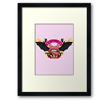 The Poon Slayers Guild Insignia. Framed Print