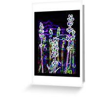 Neon Desert Greeting Card