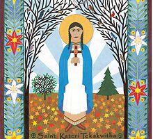 St. Kateri Tekakwitha by David Raber