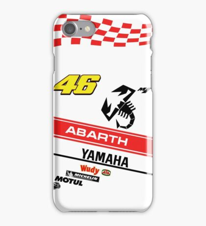 Yamaha M1 VR 46 Abarth iPhone Case/Skin