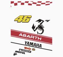 Yamaha M1 VR 46 Abarth One Piece - Short Sleeve