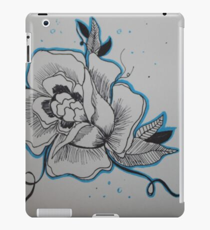 Tattoo flower iPad Case/Skin