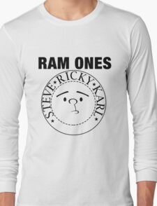 Rockbusters Ram Ones  Long Sleeve T-Shirt