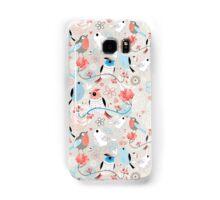 pattern love birds  Samsung Galaxy Case/Skin