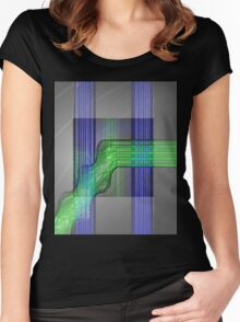 Lines #2 Women's Fitted Scoop T-Shirt