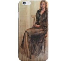 Abbie and the duckling. iPhone Case/Skin