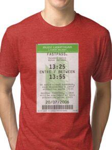 Buzz Lightyear Laser Blast Fastpass Tri-blend T-Shirt