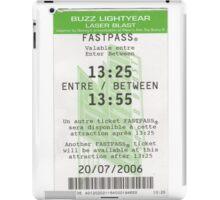 Buzz Lightyear Laser Blast Fastpass iPad Case/Skin