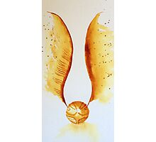 the snitch - harry potter  Photographic Print