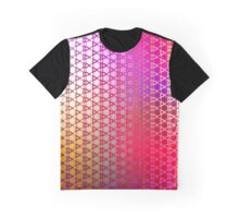 Groovy Pattern (yellow-magenta) Graphic T-Shirt