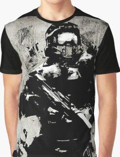 Halo Guardians Master Chief Artwork Graphic T-Shirt