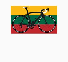 Bike Flag Lithuania (Big - Highlight) Unisex T-Shirt