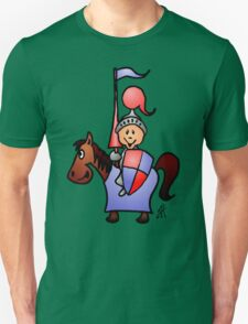 Medieval knight in shining armour T-Shirt
