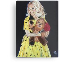 Blanche and Chewy Metal Print
